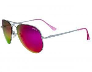 Módní brýle AVIATOR Silver