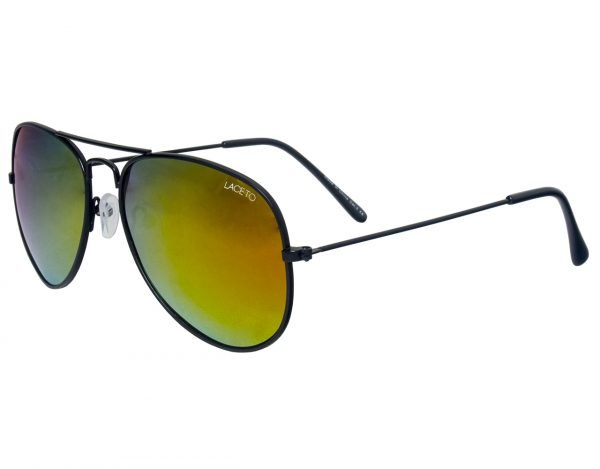 Módní brýle PILOT Black Polarizační