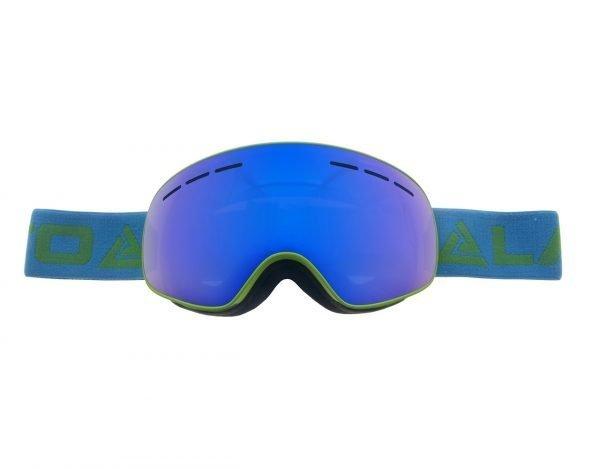 Zimní brýle LT-SNOWBALL Zelené - Dětské